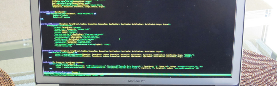 Full Screen Terminal on OS X by Ian Brown