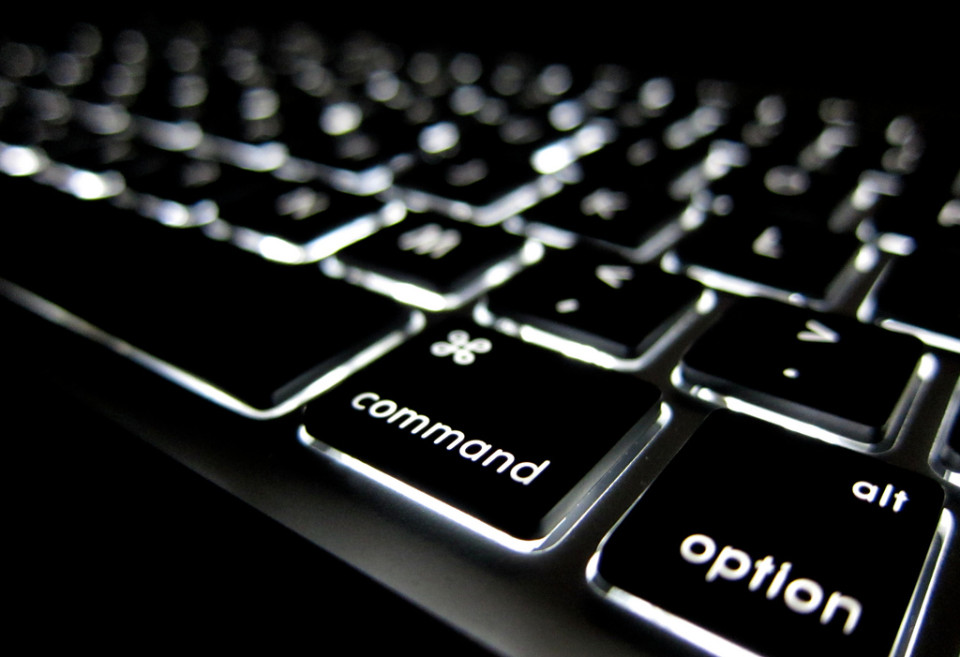 Lighted Keyboard 2 by Eric Norris